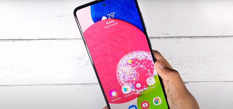 Самый мощный среднебюджетный смартфон Samsung впервые продемонстрировали в работе. Первое живое видео Galaxy A52s