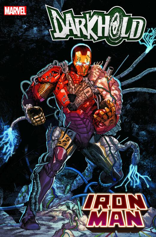 Marvel показала новую жуткую броню Железного человека из боди-хоррор комикса