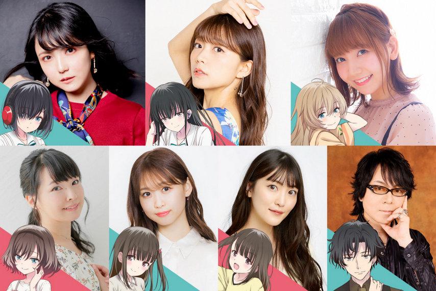 "Названы сейю героев ""180-byou de Kimi no Mimi wo Shiawase ni Dekiru ka?"""