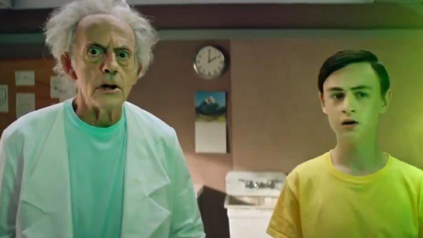 Как выглядят «Рик и Морти» в реальной жизни — свежий промо-ролик пятого сезона с Кристофером Ллойдом